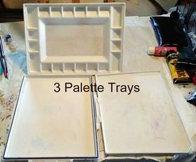 3 palette trays